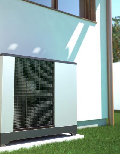 Luft-Wärmepumpe