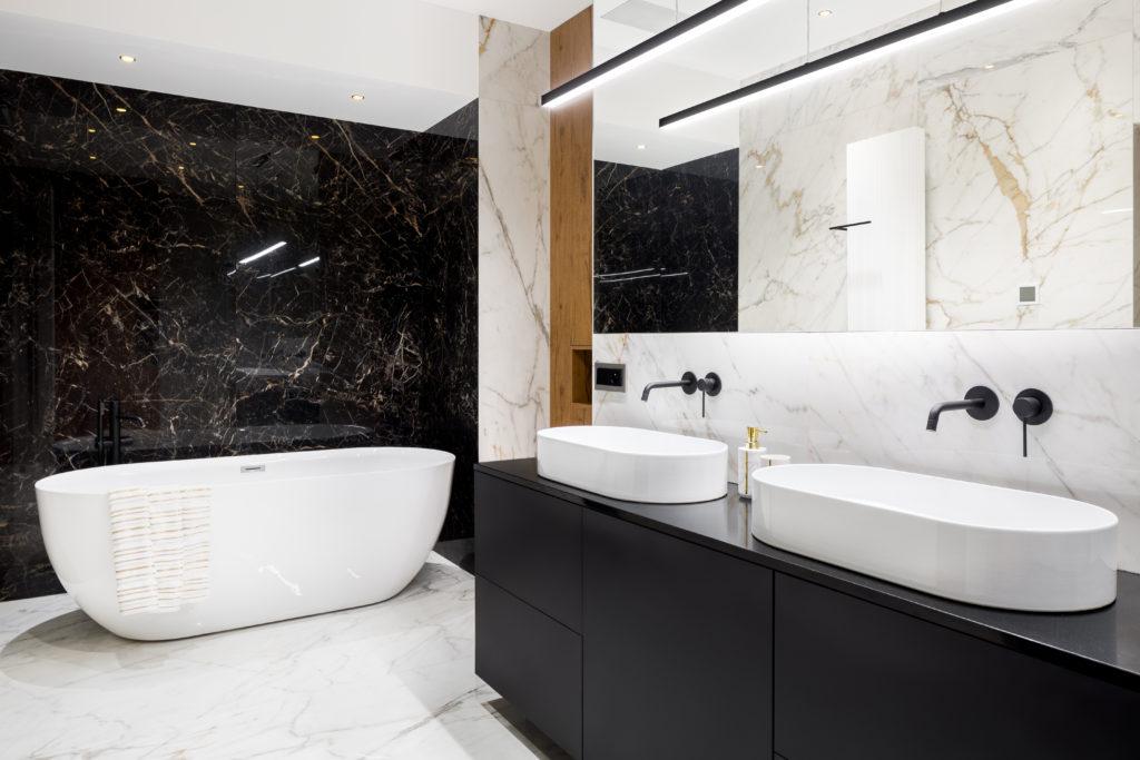 Luxus Badezimmer (Gold)